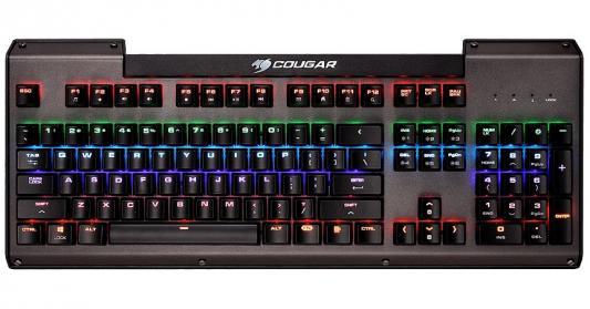 Клавиатура проводная Cougar Ultimus USB черный cougar immersa pro