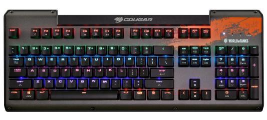 Клавиатура проводная Cougar Ultimus USB черный цена
