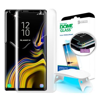 Защитное стекло для экрана Samsung Whitestone Dome для Samsung Galaxy Note 9 прозрачная 1шт. (GP-N960WTEEAAB) защитное стекло для экрана samsung araree для samsung galaxy a8 прозрачная 1шт gp a530kdeebia