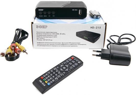 Фото - Ресивер DVB-T2 Сигнал Эфир HD-215 ресивер сигнал t34