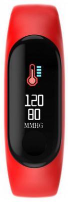 цена на Смарт-браслет Smarterra FitMaster Color TFT черный/красный (SMFT-C01R)