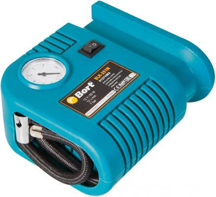 Bort BLK-251N Компрессор автомобильный [91271082] { 12 л/мин, 7 бар, 12 В, 60 Вт, 1500 об/мин, 0.65 кг, набор аксессуаров 5 шт }
