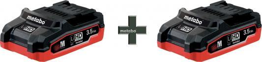 Набор аккумуляторов Metabo 18B LiHD T0346 3.5Ah x2 шт ceratec cerasonar 6060 x2 1 шт