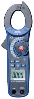Клещи CEM DT-355 электроизмерительные true rms индикатор cem dt 2g