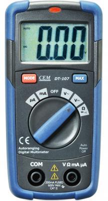Мультиметр CEM DT-107 цифровой мультиметр cem dt 932n цифровой true rms
