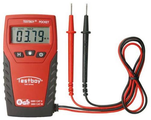 Мультиметр TESTBOY TESTBOY Pocket цифровой до 500В цена