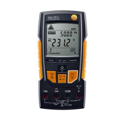 Мультиметр TESTO 760-2 цифровой с функцией измерения истинного скз мультиметр testo 760 3