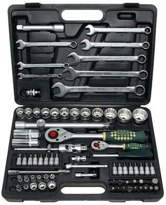 Набор инструментов FORCE 4821R-9 1/4 1/2 82пр. 12 гран. набор инструмента force 1 4