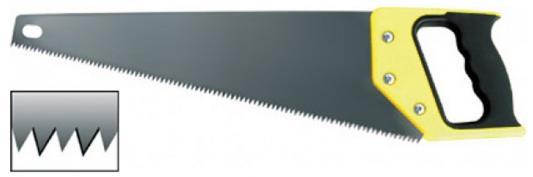 цена на Ножовка FIT 40445 по дереву, 450мм, 3D-заточка, каленая