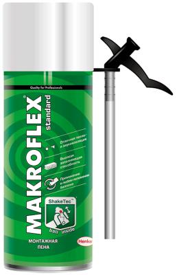 Пена монтажная MAKROFLEX SHAKETEC Стандарт (0.3л)