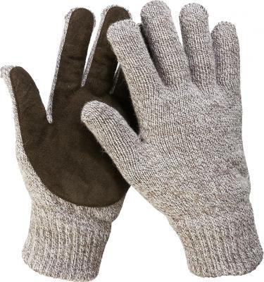 Перчатки утепленные ЗУБР 11468-S флис/подкладка спилк/наладонник акрил/полушерсть S-M цена и фото