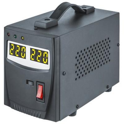Стабилизатор напряжения Navigator 61 765 NVR-RF1-500 релейного типа 500 ВА, однофазный, вх.:140–27 krauler vr n1000va 600вт релейного типа