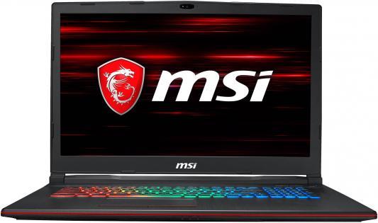 Ноутбук MSI GP73 Leopard 8RD-433RU (MS-17C6) 17.3'' FHD(1920x1080) nonGLARE/Intel Core i7-8750H 2.20GHz Hexa/16GB/1TB+256GB SSD/GF GTX1050Ti 4GB/HM370/noDVD/WiFi/BT5.0/1.0MP/SDXC/6cell/2.70kg/W10/1Y/BLACK gp73 leopard 8rd 427xru