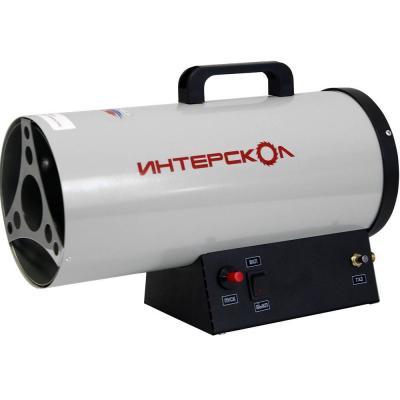 Тепловая пушка газовая Интерскол ТПГ-15 15000 Вт вентилятор ручка для переноски серый чёрный тепловая электропушка интерскол тпэ 3
