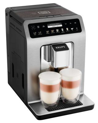 Кофемашина Krups EA894T10 серебристый кофемашина krups ea826 1450вт 1 8л черный