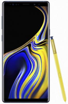 Смартфон Samsung Galaxy Note 9 512 Гб синий (SM-N960FZBHSER) смартфон samsung galaxy s8 sm g950f 64gb жёлтый топаз