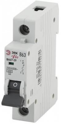 Автомат ЭРА Pro NO-900-76 ва47-29 1p 16а кривая b (12/180/3240) автомат эра no 902 101 ва47 29 1p 10а кривая c 12 180 3780
