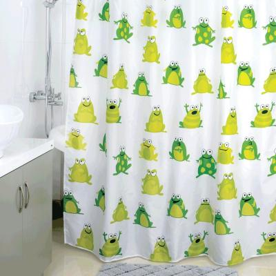 цена на Штора для ванной комнаты Milardo Frogs Pool