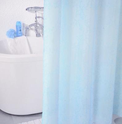 Штора для ванной комнаты Milardo Blue Leaf 180х200см полиэстер SCMI083P цена