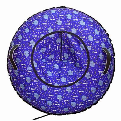 Надувные санки RT Собаки Королевы до 120 кг синий рисунок ПВХ тюбинг rt ural bear до 120 кг тентовая ткань рисунок 6966