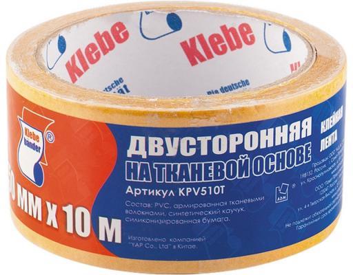 Лента клеящая СИБРТЕХ 88810 двусторонняя 38 х 10 на тканевой основе скотч unibob клеящая двусторонняя 38 х 10 на полипропиленовой основе 88806