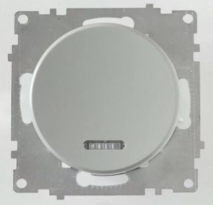Механизм выключателя 1-кл ONEKEYELECTRO 1E31701302 СП Florence 10А IP20 с подсветкой сер