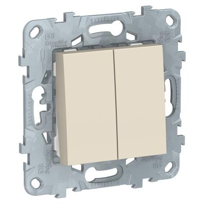 Выключатель Schneider Electric NU521144 — бежевый