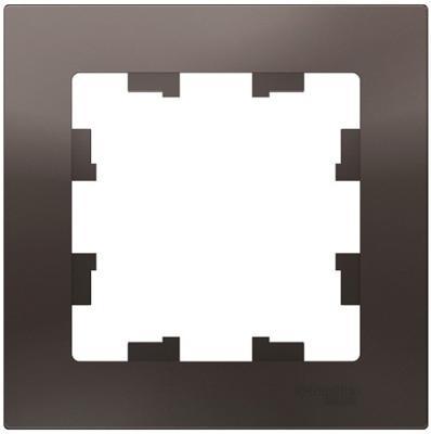 Рамка SCHNEIDER ELECTRIC ATN000601 1-м atlas design мокко