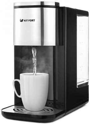Термопот Kitfort КТ-2503 2.2л. 2600Вт черный/серебристый