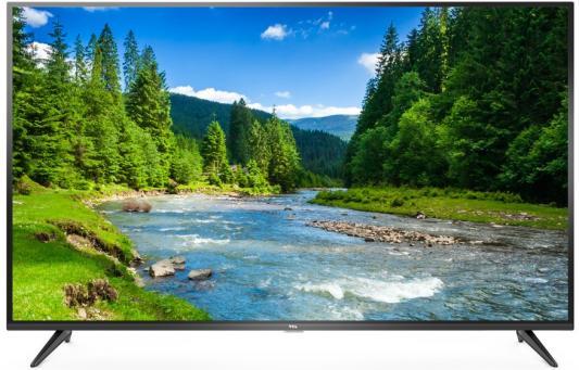 Телевизор LED 43 TCL L43P65US черный 3840x2160 50 Гц Wi-Fi Smart TV USB RJ-45 Для наушников телевизор 55 centek ct 8255 черный 3840x2160 50 гц wi fi smart tv hdmi scart антенный вход ypbpr разьем для наушников spdif coaxial s pdif output usb rj 45
