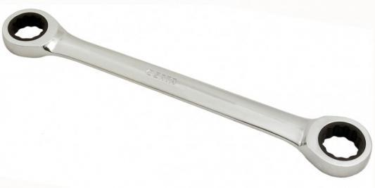 Ключ SATA 46201 накид. метр.храп./мех.двухкон. 8х9мм 128/16.0/17.0мм ключ sata 48101