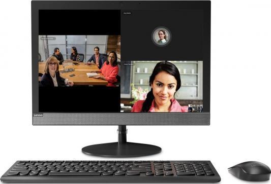 Моноблок Lenovo V130-20IGM 19.5 WXGA+ PS J5005 (1.5)/4Gb/500Gb 7.2k/UHDG 605/CR/Windows 10 Home/GbitEth/WiFi/BT/65W/клавиатура/мышь/черный 1440x900