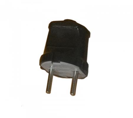 Вилки ПАН ЭЛЕКТРИК 24202 4 вилка б/з 16а 250в прямой вывод проводника abs-пластик черная