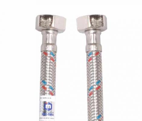 цены на Подводка MATEU 13447 д/воды FIL-NOX 1/2 1.0м г-г резина нержавеющая сталь 20бар внутр. d8.5  в интернет-магазинах