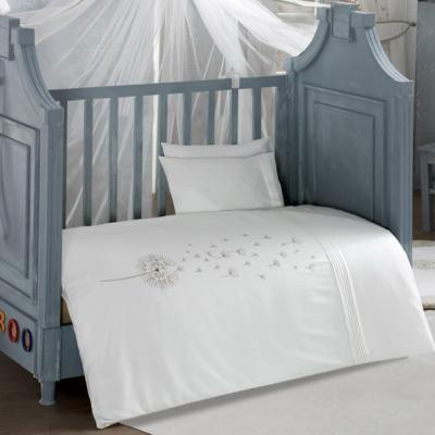 Комплект постельного белья 3 предмета KidBoo Blossom Saten (vanila) цена