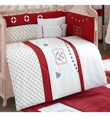 Купить Комплект постельного белья 3 предмета KidBoo Ocean (red), красный, н/д, Сменное постельное белье
