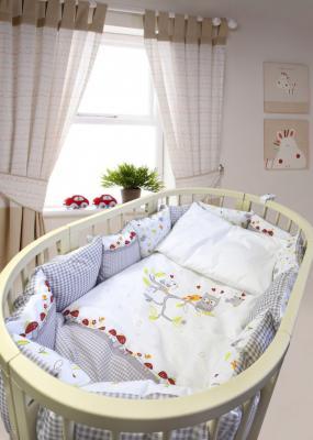 Постельный сет 7 предметов Labeillebaby Francis постельный сет 7 предметов тайна снов сыроежкины сны салатовый