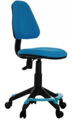 Кресло детское Бюрократ KD-4-F/TW-55 голубой TW-55 кресло детское бюрократ kd 4 cosmos синий космос cosmos