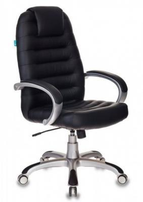 Картинка для Кресло руководителя Бюрократ T-9903S/BLACK черный искусственная кожа (пластик серебро)