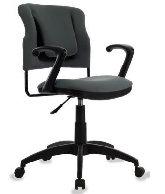 Кресло Бюрократ CH-323PL/GREY спинка динамичная поддержка серый 26-25 кресло бюрократ ch 1300 grey серый