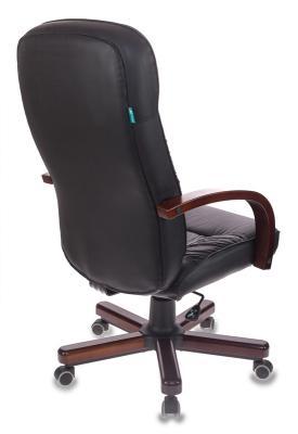 Кресло руководителя Бюрократ T-9908/WALNUT чёрный