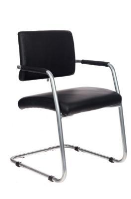 Кресло Бюрократ CH-271-V/SL/OR-16 черный зеркальный хром искусственная кожа кресло бюрократ ch 271 v на полозьях искусственная кожа [ch 271 v sl or 10]