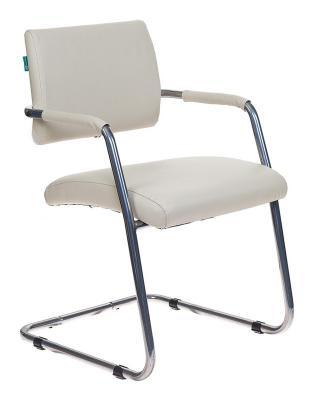 Кресло Бюрократ CH-271-V/SL/OR-12 светло-бежевый зеркальный хром искусственная кожа все цены