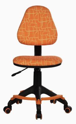 Кресло детское Бюрократ KD-4-F/GIRAFFE оранжевый жираф кресло детское бюрократ kd 4 cosmos синий космос cosmos