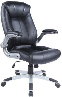 Кресло руководителя Бюрократ CH-S860A/BLACK черный искусственная кожа (пластик серебро) кресло руководителя бюрократ ch 824 black