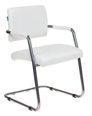 Кресло Бюрократ CH-271-V/SL/OR-10 молочный зеркальный хром искусственная кожа кресло бюрократ ch 797axsn красный