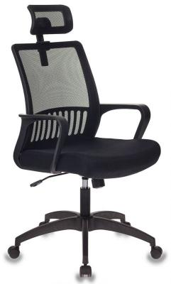 Кресло Бюрократ MC-201-H/DG/TW-11 спинка сетка серый TW-04 сиденье черный TW-11 все цены