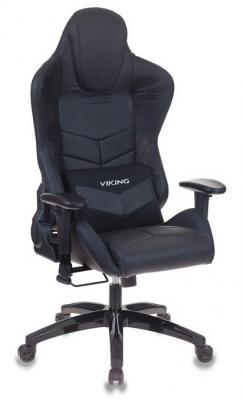 Картинка для Кресло игровое Бюрократ CH-773N/BLACK две подушки черный искусственная кожа (пластик черный)