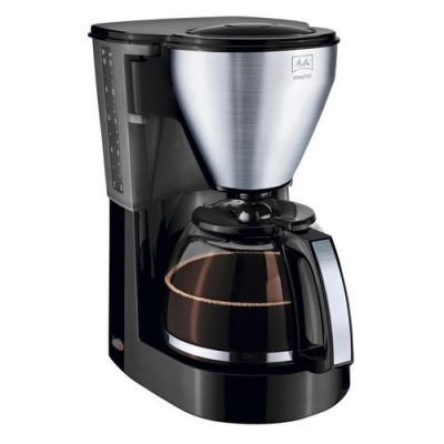 Кофеварка Melitta EasyTop Steel (218738) серебристо-черный кофеварка melitta е 953 102 серебристый черный