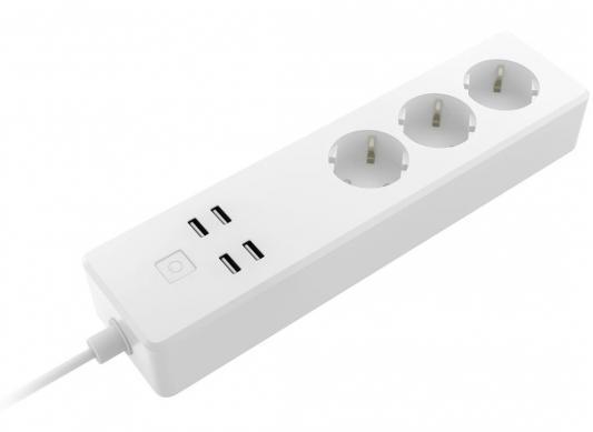 цены на Сетевой фильтр Rubetek RE-3310 1.8м (3 розетки) белый (коробка)  в интернет-магазинах